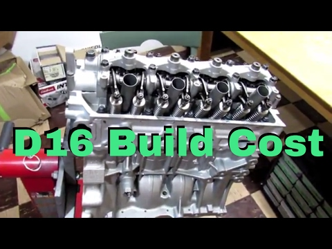 D16 Build Cost - YouTube