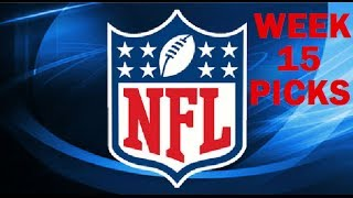 2013 WEEK 15 NFL PICKS