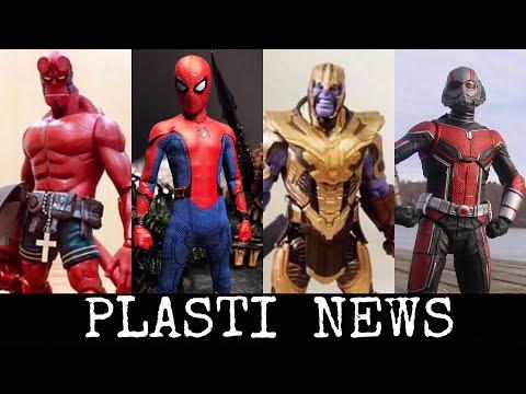 PLASTI  NEWS | Marvel Legends Avengers| MEZCO Tech Suit Spider-Man | DIAMOND SELECT ANTMAN