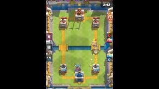 皇室戰爭疑問???我的塔為什麼會爆大家看得出來嗎?(已發現哈哈)