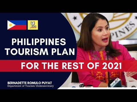 Philippines tourism plan for the rest of 2021   English
