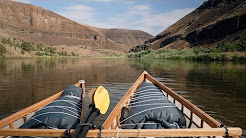 John Day River trip in skin on frame canoes