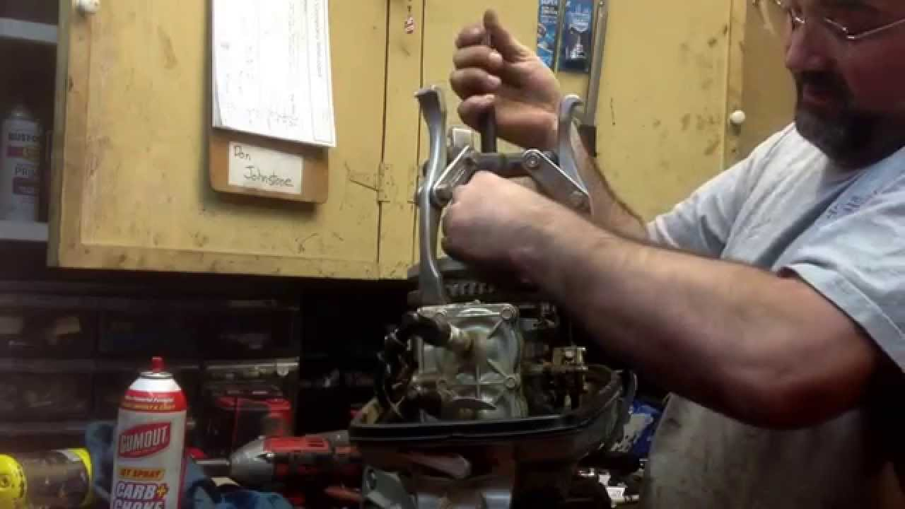 How To Pull A Flywheel From An Outboard Youtube Mercruiser 120 Wiring Diagram