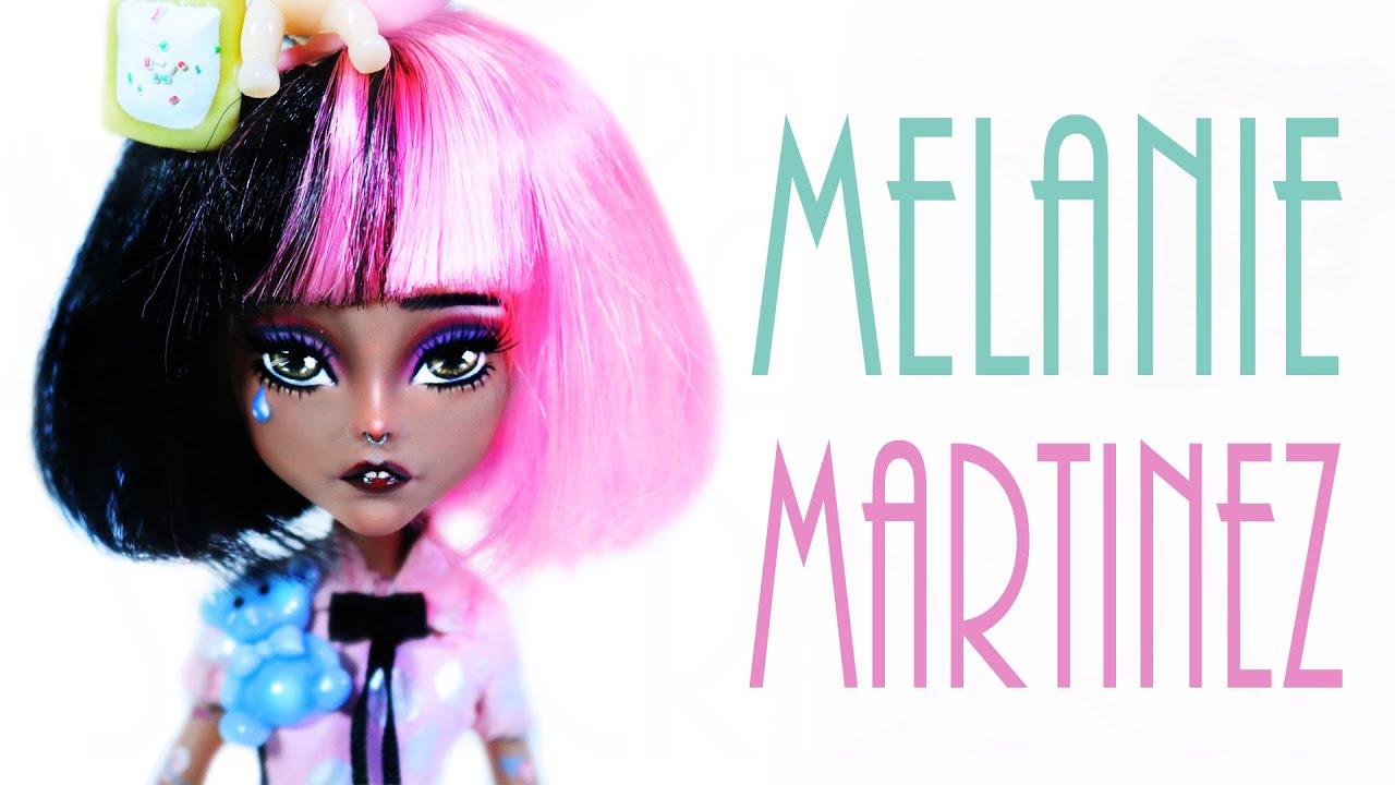 how to make a melanie martinez doll cry baby youtube