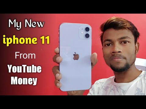 My New Iphone 11 📱 From Youtube Money 💸💸