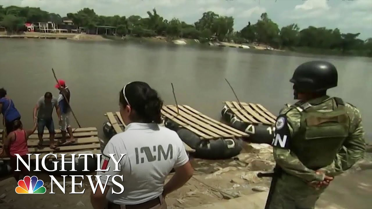 Exclusive Look As Mexico Deploys Troops To Guatemala Border To Slow Migration To U.S. | Nightly News