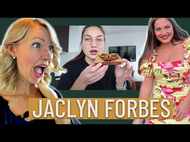 Dietitian Reacts to Jaclyn Forbes' What I Eat in a Day (This was HIGHLY Requested...)