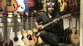 Gandi baat-Guitar solo by Likhith Kurba
