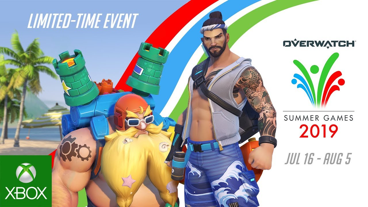 Overwatch Summer Games 2020 Skins.Overwatch Event Summer Games 2019