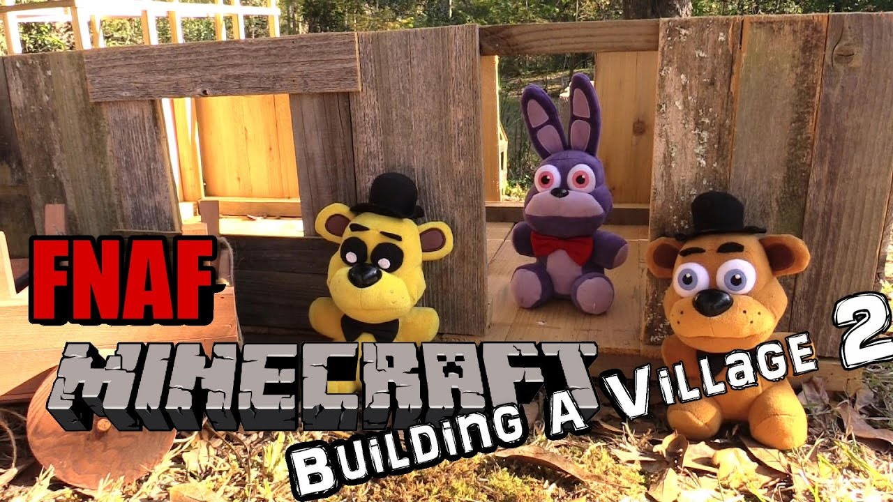 Download FNAF plush Minecraft 14 -  building a village part 2