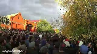 Рамзан Кадыров в Карабулаке. 26.10.2018
