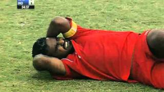 Semi Final 1: India vs Maldives (Full Match) SAFF Championship 2011
