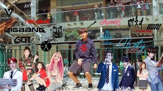 kpop 2015 random dance challenge in public twice bts exo snsd etc
