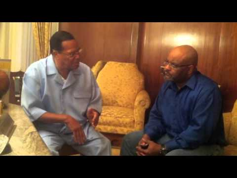 "Minister Louis Farrakhan Discusses ""Django Unchained"""