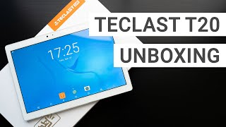 Teclast T20 Exciting China Tablet Unboxing & First Impressions