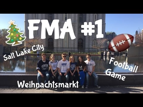 FMA- Salt Lake City, Weihnachtsmarkt & Footballgame │Leni Goes Usa