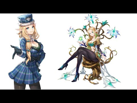 King's Raid - Lorraine Revamped - A Quick Look At How She Does