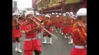 BAND EXHIBITION AT QUIAPO FIESTA 2014