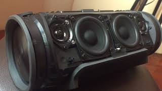 JBL Xtreme!! Before And After Deep Bass Mode Test!!