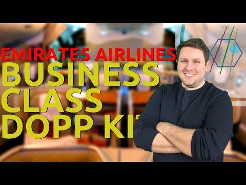 Emirates Business Class Amenities Kit Review