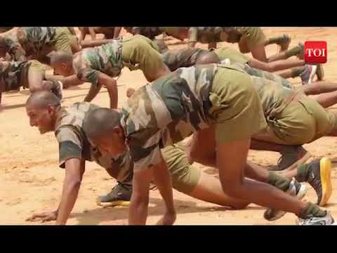 Indian Military Academy Training Video 2017