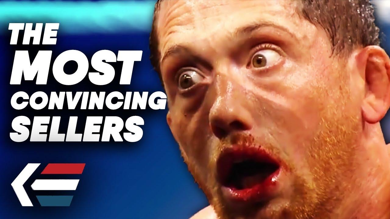 Download 10 Most Convincing Sellers In Wrestling EVER!   WrestleTalk with Adam Blampied