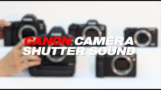 캐논카메라 셔터사운드 모음 | 캐논셔터사운드 | 캐논T…