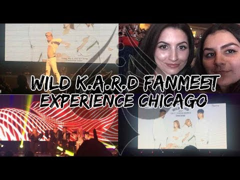 WILD K.A.R.D CHICAGO FANMEET EXPERIENCE ft. KRYSTAL   KMREACTS