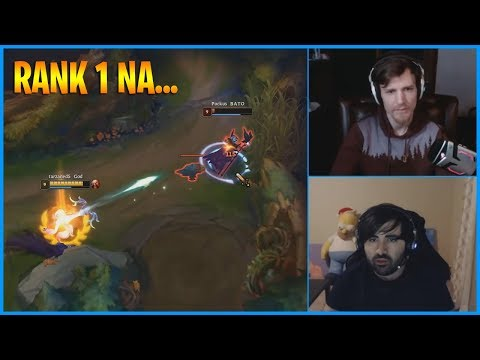 Rank 1 NA and Little Raptor...LoL Daily Moments Ep 932