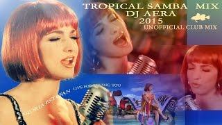 Gloria Estefan  - Live  for loving You (  Tropical Samba Mix Dj  Aera) 2015