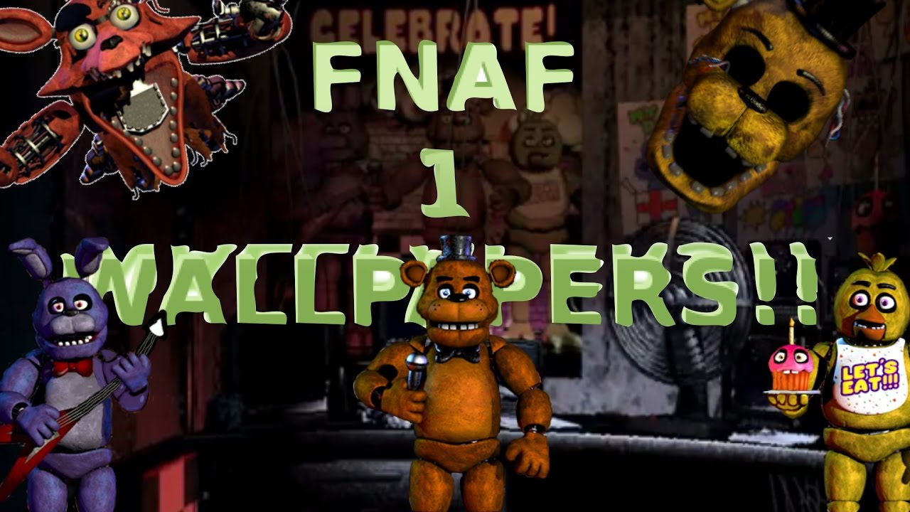 Fnaf Five Nights At Freddy S Wallpapers Backgrounds Youtube