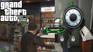 GTA 5 Mods  :- How to Rob the Safe Vault in Liquor Store.