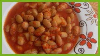 Mediterranean Roman Bean Recipe - Cranberry Beans