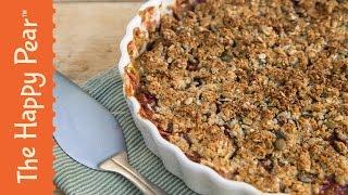 How To Make Rhubarb Crumble - Super Easy Dessert Recipe!