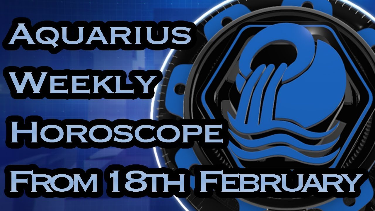 aquarius weekly horoscope 1 february 2020 by michele knight