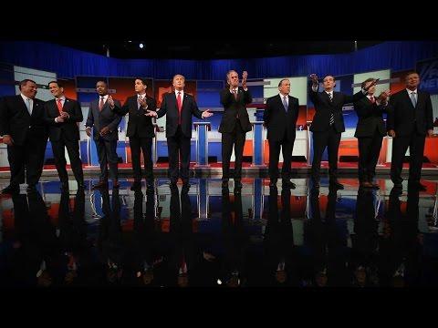 FULL SHOW Presidential GOP Republican Prime Time Debate Part 1 |  Presidential Election 2016
