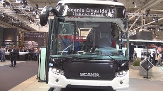 Scania Citywide LE Hybrid Class II Bus (2017) Exterior and Interior