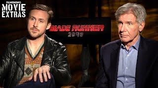 Blade Runner 2049 (2017) Harrison Ford & Ryan Gosling talk about their experience making the movie