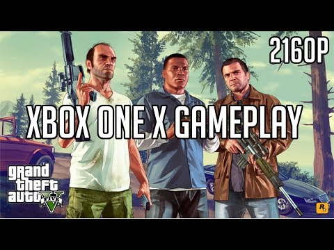 Grand Theft Auto V | Xbox One X Gameplay