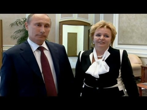 طلاق الرئيس الروسي
