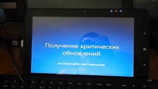 Установка Windows 10 на планшет ViewSonic