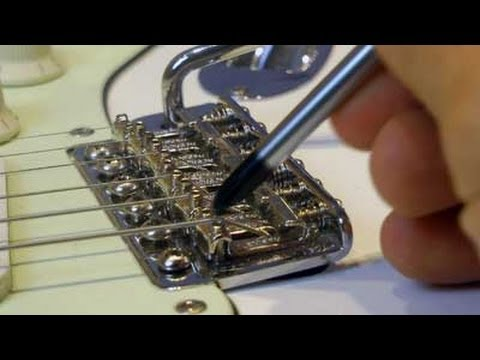 How To Set Up a Vintage Strat Six Bolts Screws Tremolo for Best Floating Performance