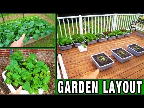 Garden Update 1 This Years Layout New Stuff Raised Bed