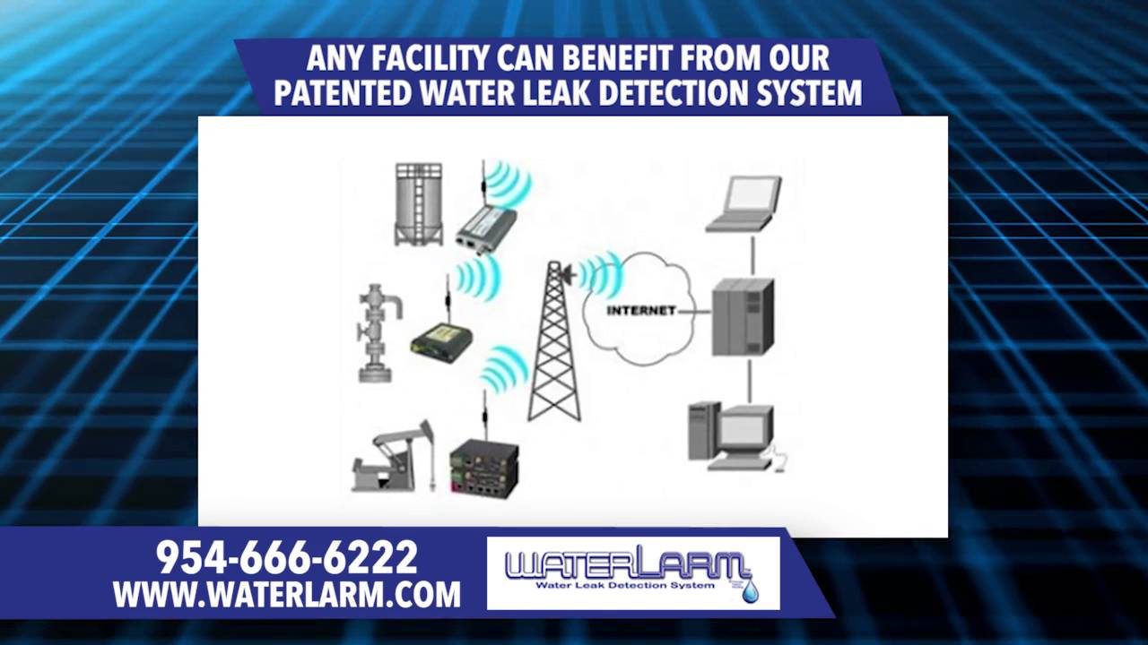 WaterLarm leak detection monitoring | Building Water Alarm