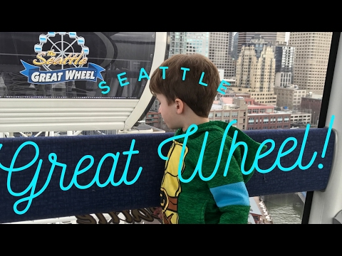🎡Riding the Seattle Great Wheel!🎡