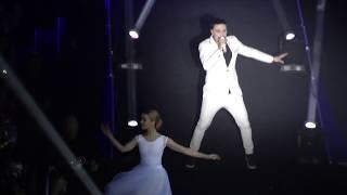 """Дима Билан - Never let you go. """"Билан Опять 35. Неделимые"""" 08.11.17 Crocus City Hall"""