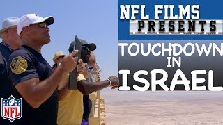 18 Hall of Famers Explore Israel & Spread American Football | NFL Films Presents