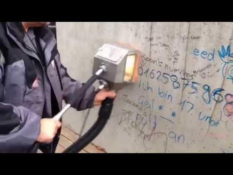 Graffiti Removal On Concrete
