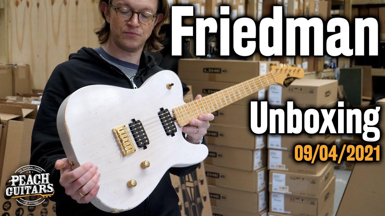 Friedman Vintage Guitars Unboxing - 09/04/2021