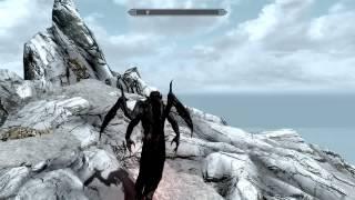 Skyrim обзор мода ретекстур и полёт вампира-лорда